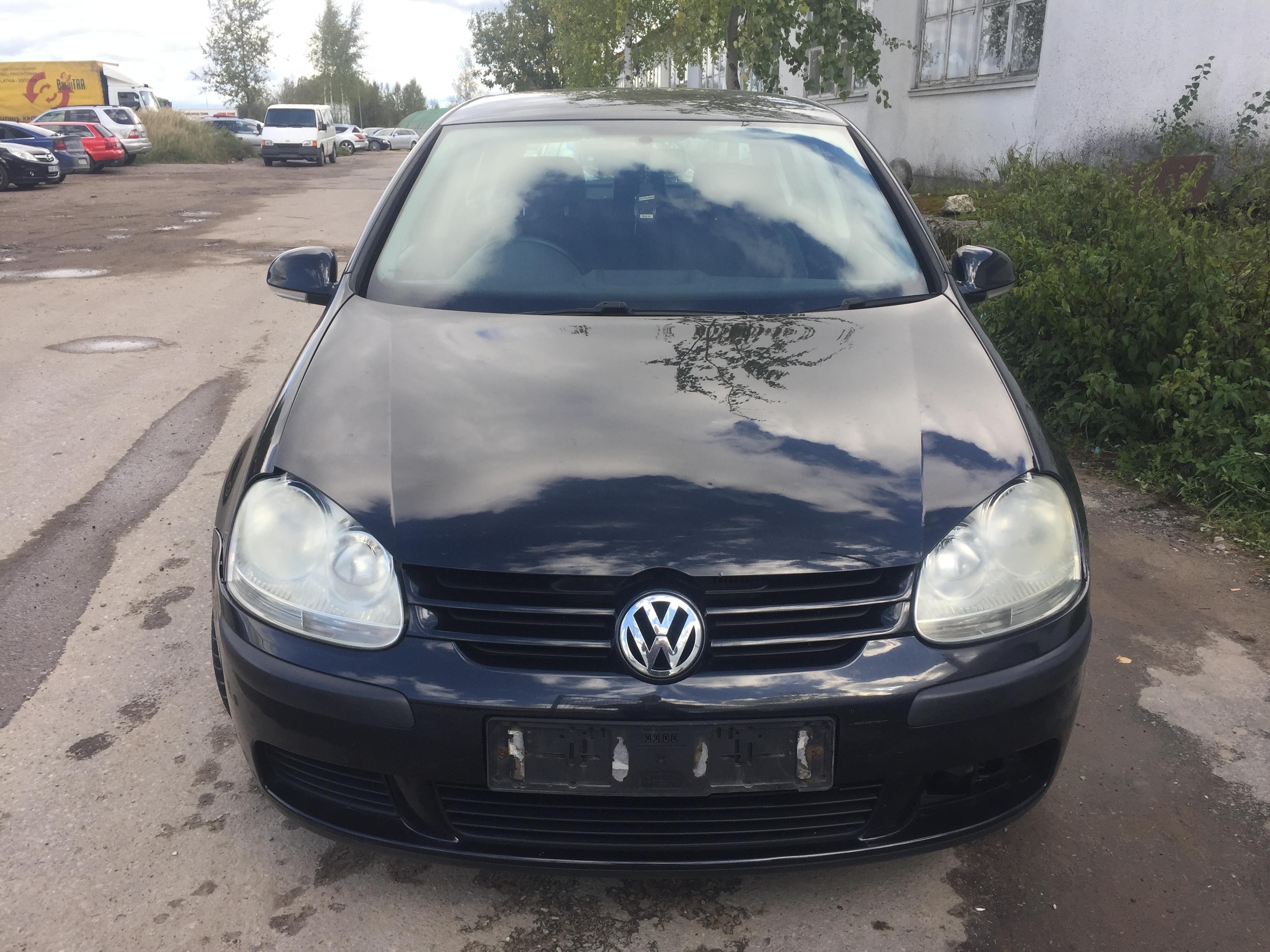 Naudotos automobilio dalys Volkswagen GOLF 2005 2 Mechaninė Hečbekas 4/5 d. Juoda 2018-9-28