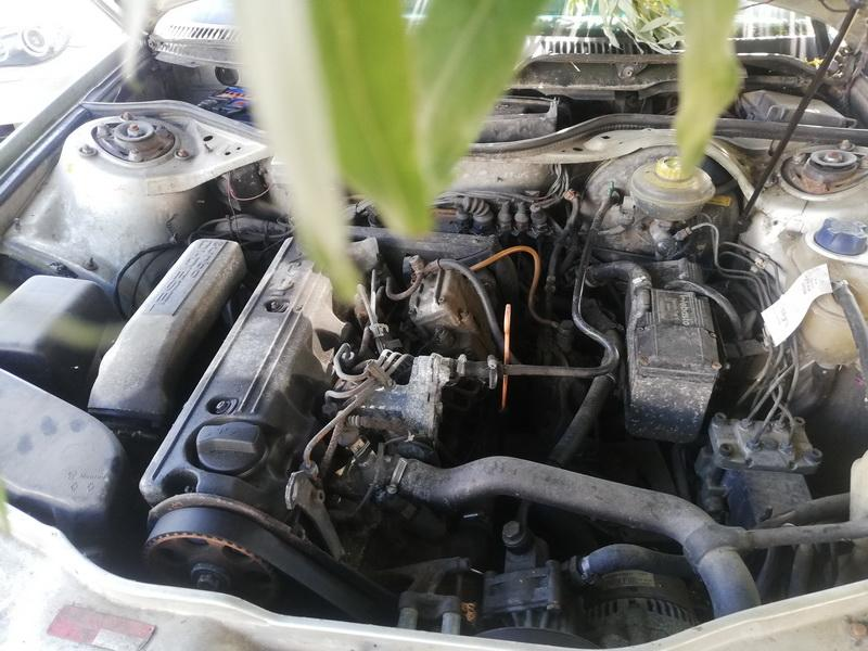 Naudotos automobiliu dallys Foto 3 Audi 100 1991 2.5 Mechaninė Sedanas 4/5 d. Pilka 2019-8-24 A4714