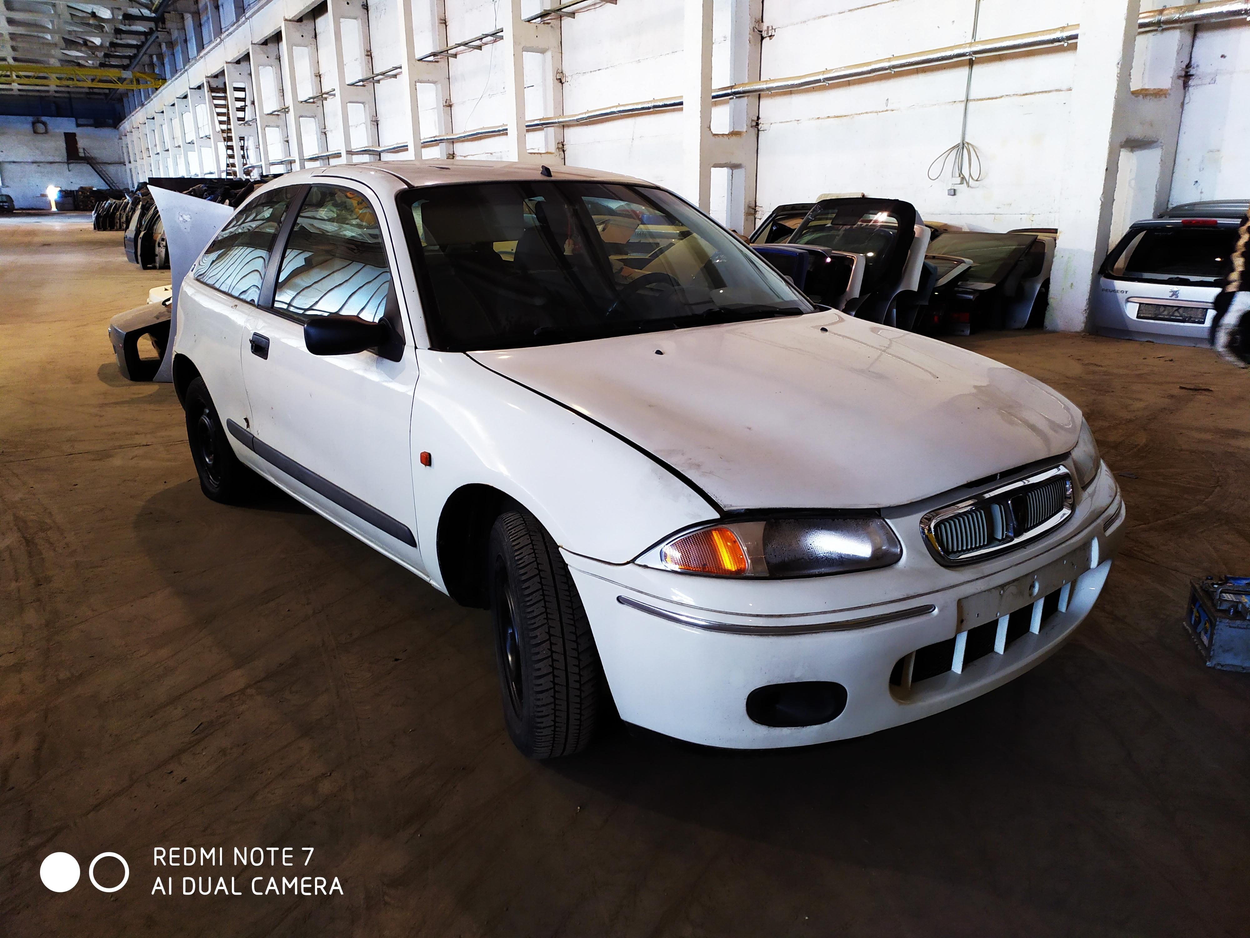 Naudotos automobilio dalys Rover 200-SERIES 2000 1.4 Mechaninė Hečbekas 2/3 d. Balta 2020-9-04