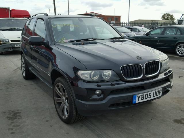 Naudotos automobiliu dallys Foto 2 BMW X5 2005 3.0 Mechaninė Visureigis 4/5 d. Juoda 2018-11-01 A4159