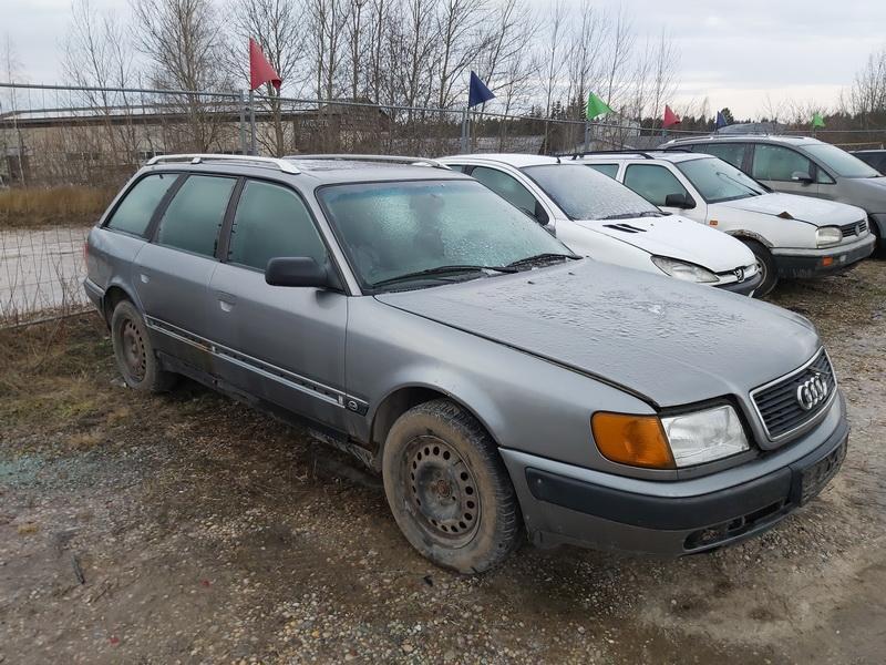 Naudotos automobiliu dallys Foto 3 Audi 100 1993 2.5 Mechaninė Universalas 4/5 d. Pilka 2019-12-23 A4982