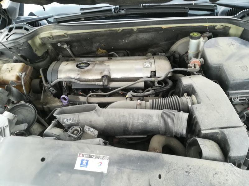 Naudotos automobiliu dallys Foto 2 Peugeot 407 2005 2.0 Mechaninė Sedanas 4/5 d. Juoda 2019-8-02 A4679