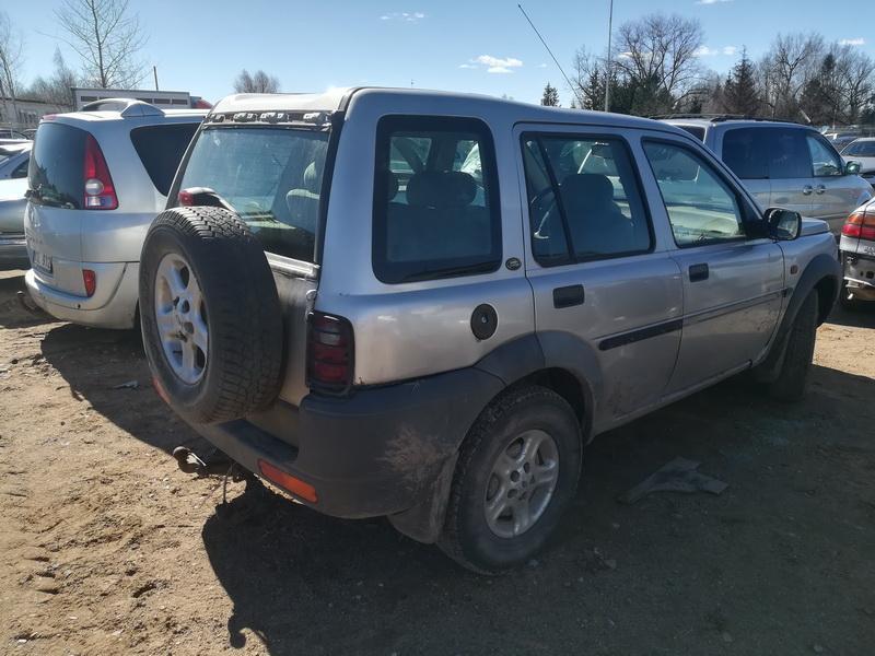 Naudotos automobiliu dallys Foto 9 Land Rover FREELANDER 1999 2.0 Mechaninė Visureigis 4/5 d. Pilka 2019-4-01 A4394