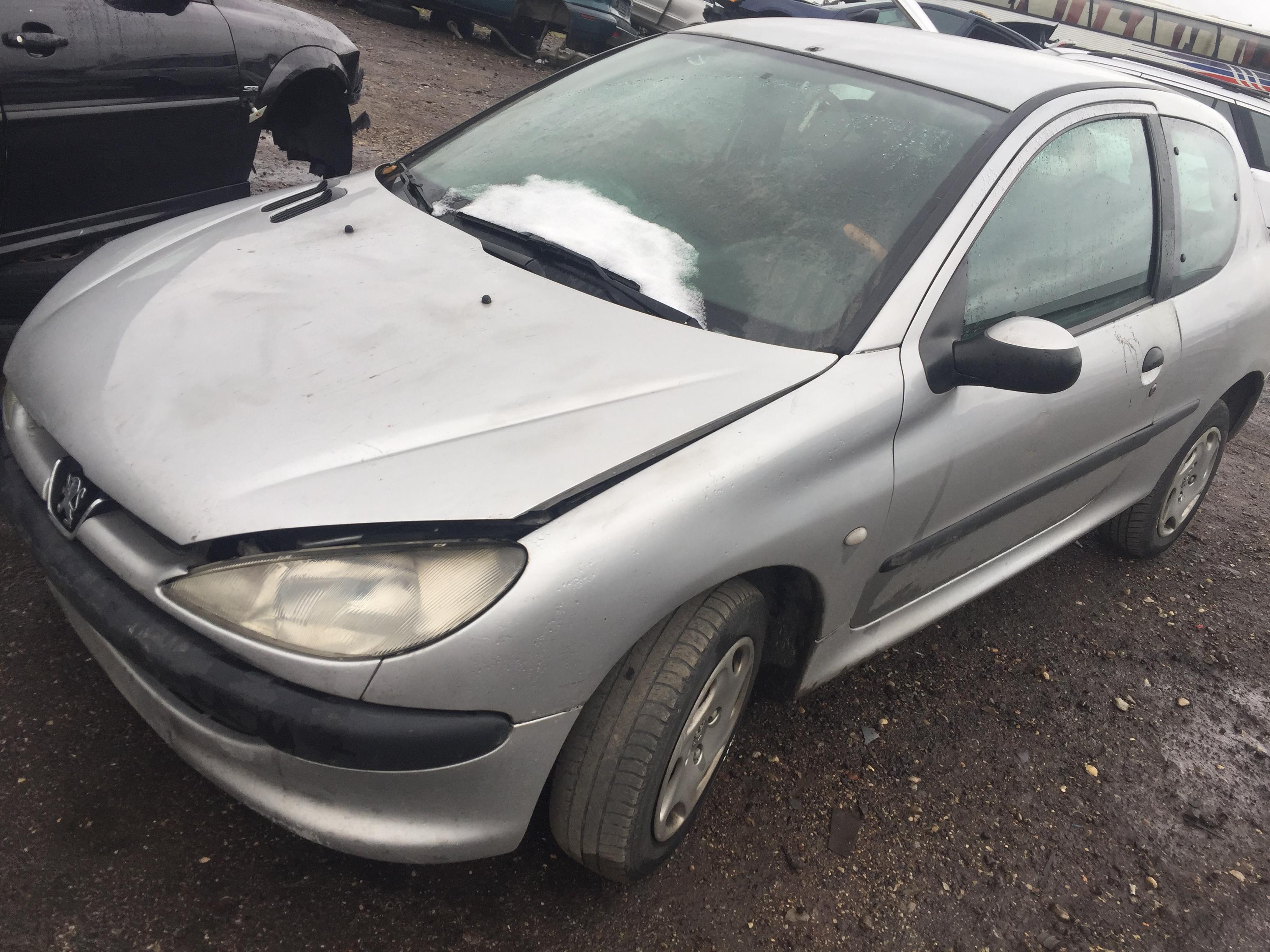 Naudotos automobilio dalys Peugeot 206 2001 1.9 Mechaninė Hečbekas 2/3 d. Sidabrine 2017-10-26