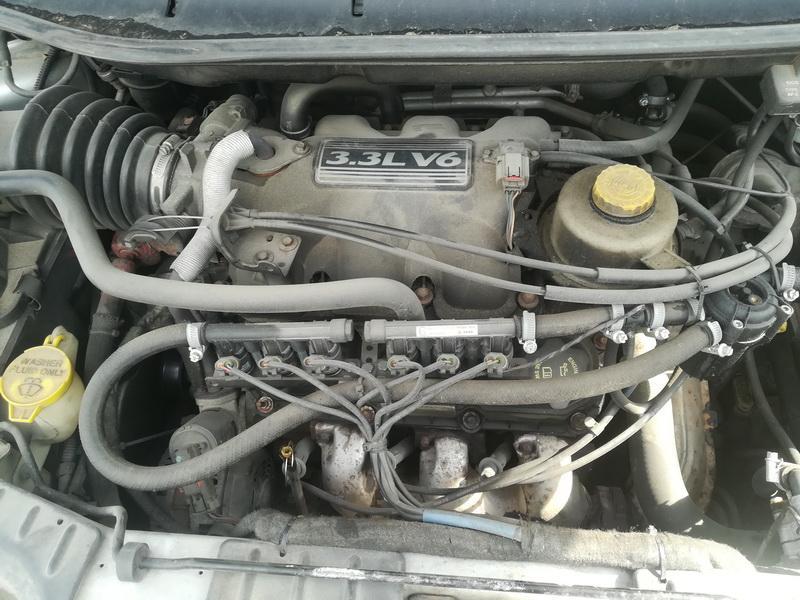 Naudotos automobiliu dallys Foto 2 Dodge GRAND CARAVAN 2005 3.3 Automatinė Vienatūris 4/5 d. Sidabrine 2019-6-07 A4550