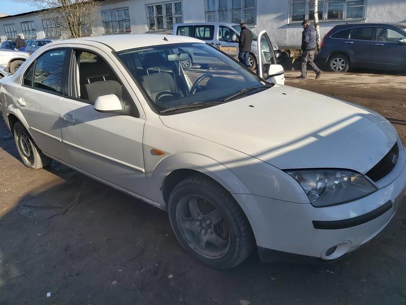 Naudotos automobilio dalys Ford MONDEO 2001 2.0 Mechaninė Sedanas 4/5 d. Balta 2020-2-22