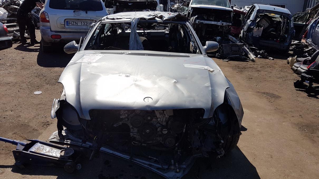Naudotos automobilio dalys Mercedes-Benz CLS-CLASS 2011 5.5 Automatinė Sedanas 4/5 d. Pilka 2017-5-04