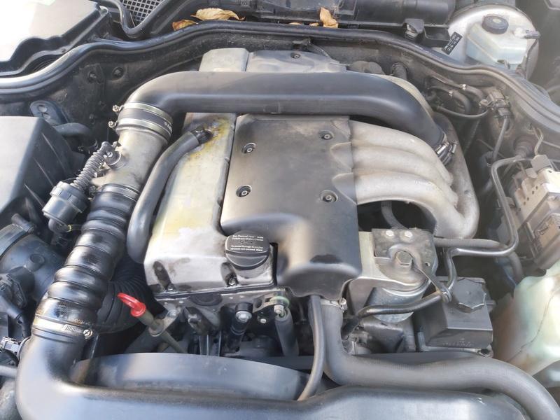 Naudotos automobiliu dallys Foto 2 Mercedes-Benz E-CLASS 1996 2.9 Automatinė Sedanas 4/5 d. Melyna 2020-10-07 A5723