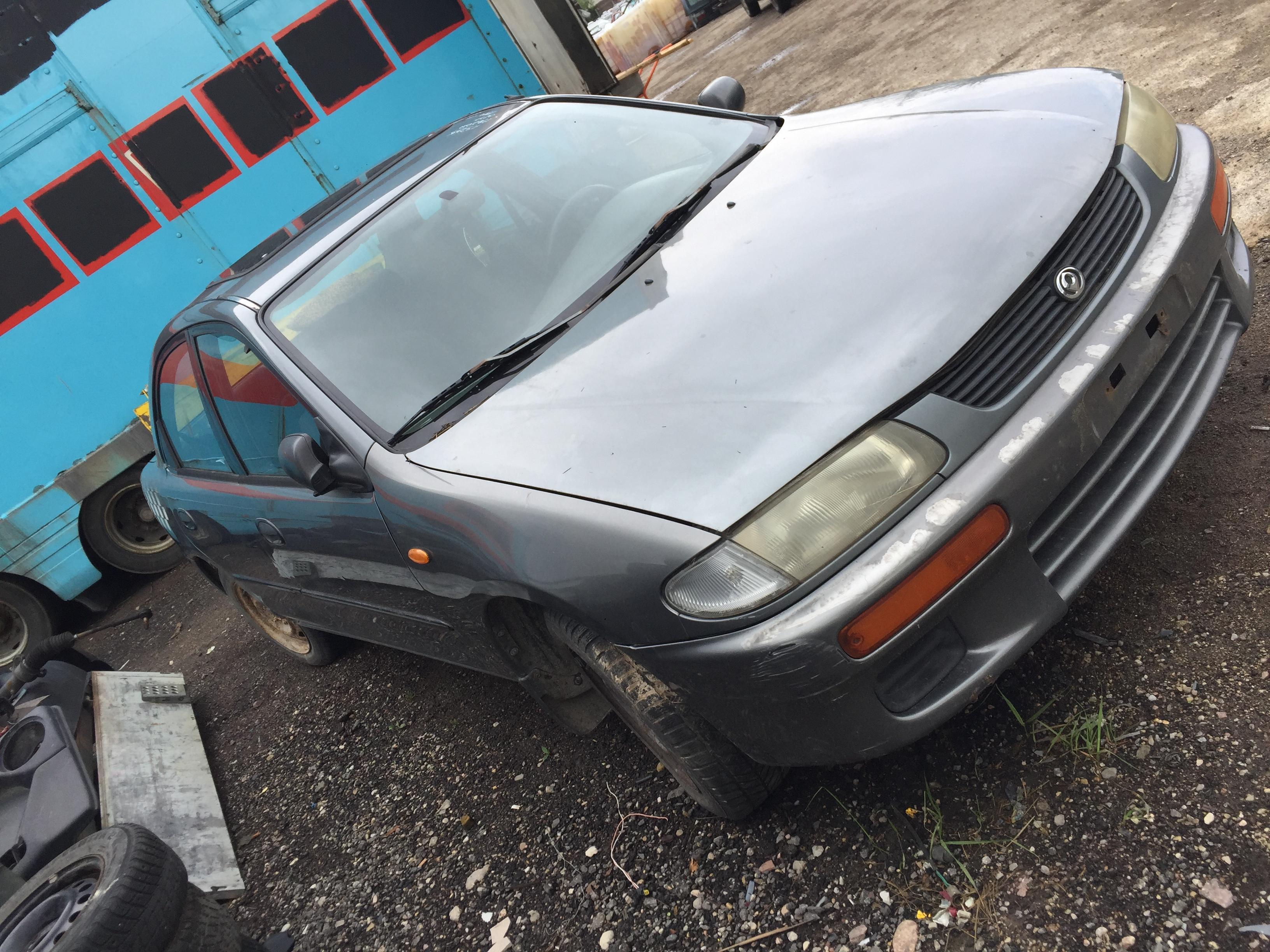 Naudotos automobiliu dallys Foto 8 Mazda 323 1994 1.5 Mechaninė Hečbekas 4/5 d. Pilka 2018-5-15 A3755