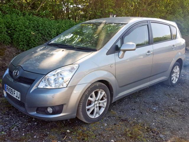 Naudotos automobilio dalys Toyota COROLLA VERSO 2009 2.2 Mechaninė Vienatūris 4/5 d. Sviesiai pilka 2019-5-30