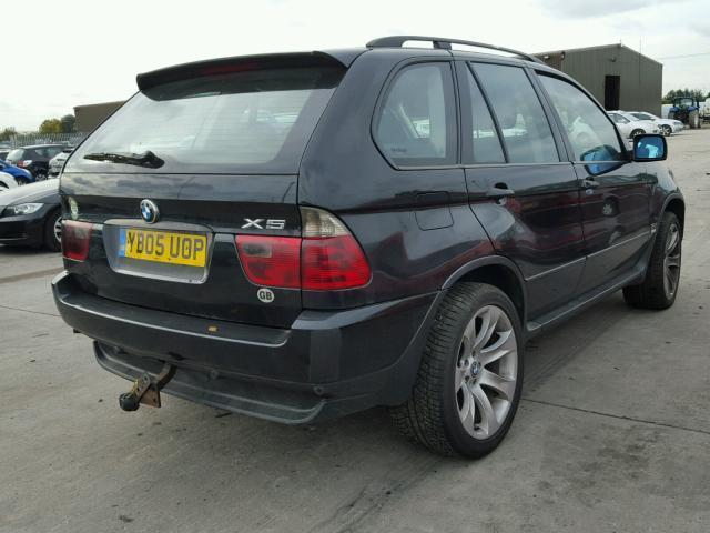 Naudotos automobiliu dallys Foto 3 BMW X5 2005 3.0 Mechaninė Visureigis 4/5 d. Juoda 2018-11-01 A4159
