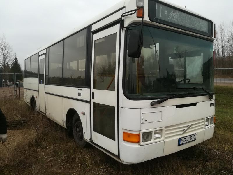 Naudotos automobilio dalys Bus - Volvo B6 1993 5.5 Automatinė Kita 2/3 d. Balta 2019-11-28