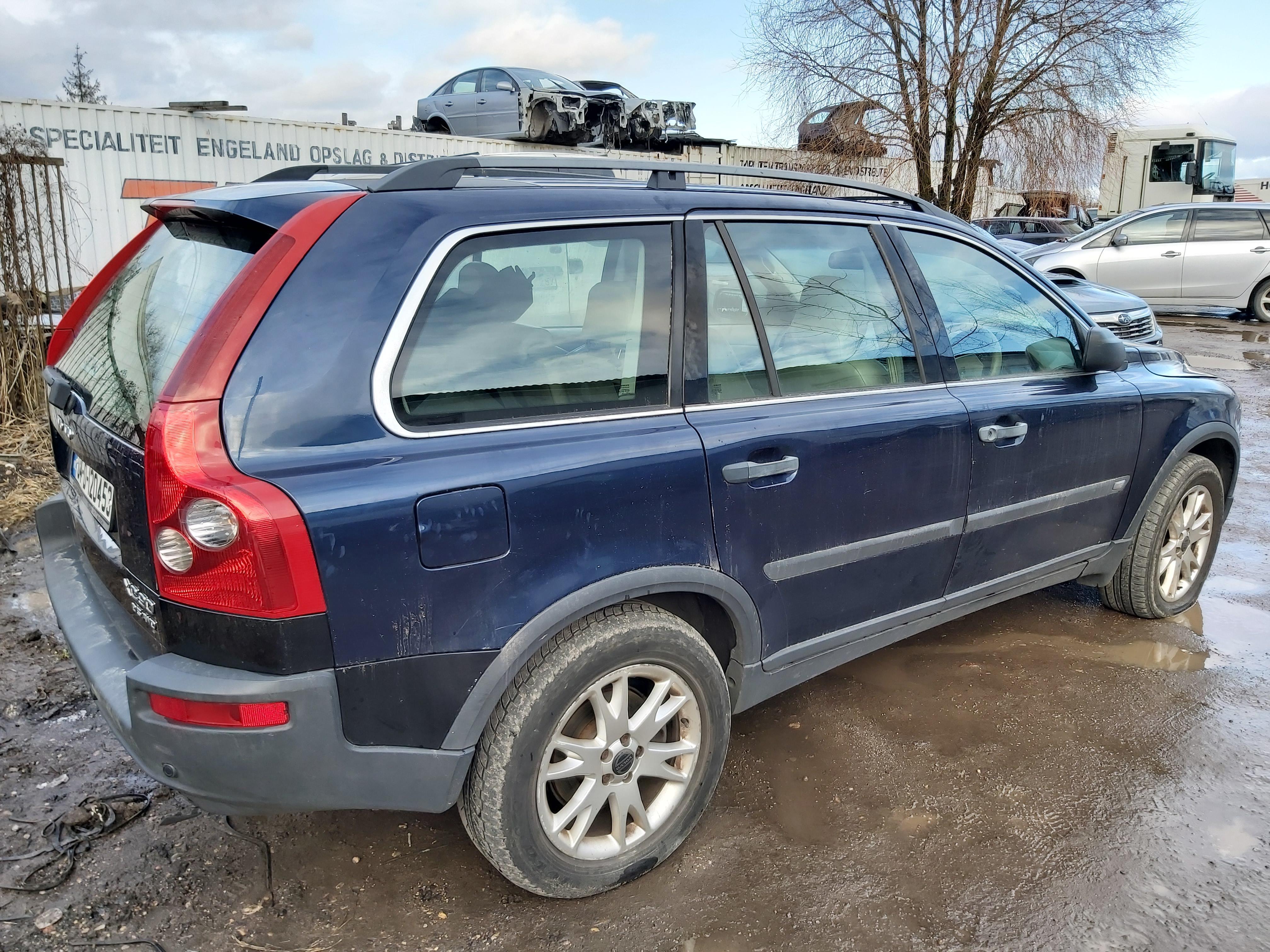 Naudotos automobiliu dallys Foto 8 Volvo XC 90 2004 2.4 Automatinė Visureigis 4/5 d. Melyna 2020-2-06 A5062
