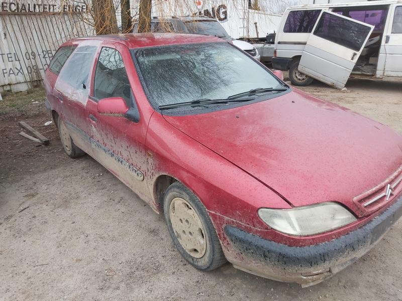 Naudotos automobilio dalys Citroen XSARA 1999 2.0 Mechaninė Universalas 4/5 d. Raudona 2020-4-09