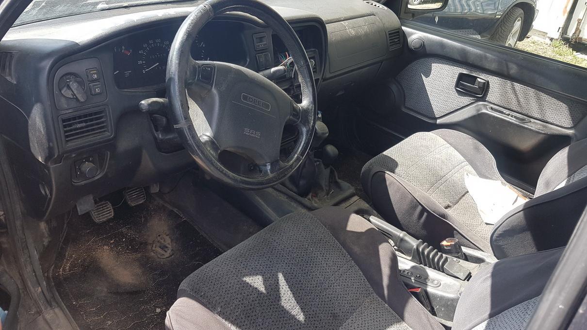 Naudotos automobiliu dallys Foto 3 Opel FRONTERA 1997 2.2 Mechaninė Visureigis 4/5 d. Melyna 2017-5-09 A3278