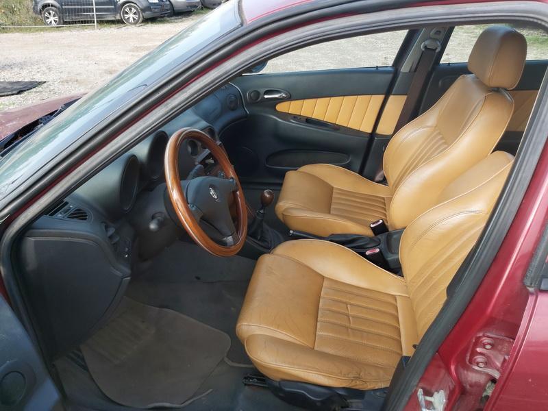 Naudotos automobiliu dallys Foto 5 Alfa-Romeo 156 2001 1.9 Mechaninė Universalas 4/5 d. Raudona 2020-9-30 A5697