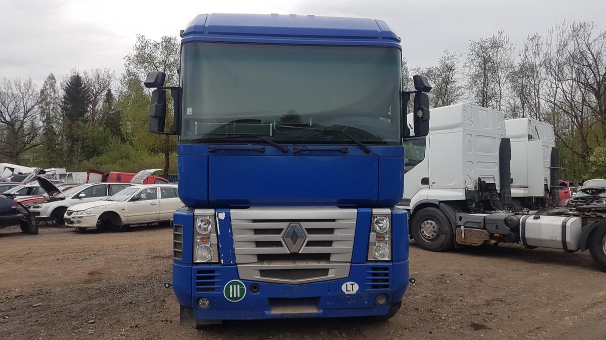 Naudotos automobilio dalys Truck - Renault MAGNUM 2001 12.0 Mechaninė Vilkikas 2/3 d. Melyna 2017-5-18