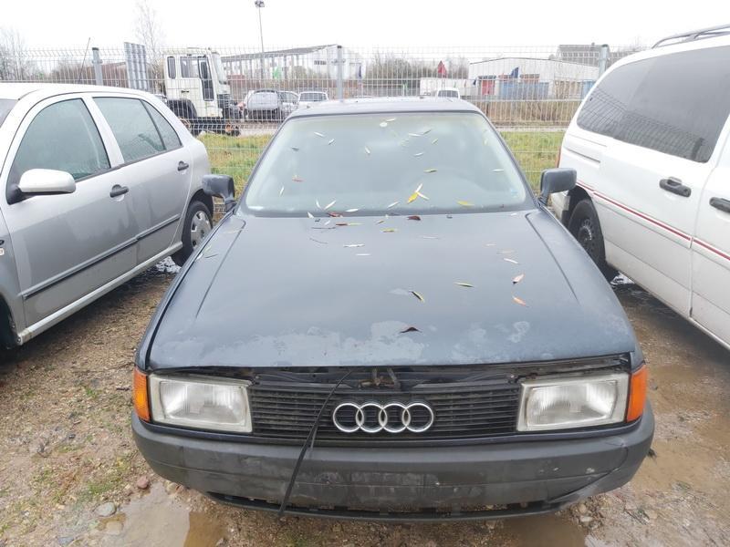 Подержанные Автозапчасти Foto 2 Audi 80 1987 1.8 машиностроение седан 4/5 d. синий 2020-11-18 A5834