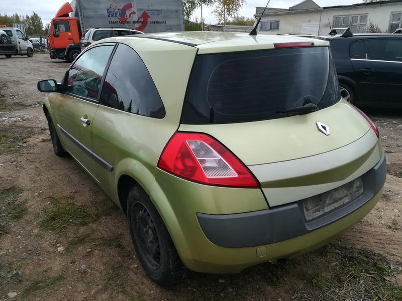 Naudotos automobiliu dallys Foto 7 Renault MEGANE 2003 1.6 Mechaninė Hečbekas 2/3 d. Geltona 2019-10-05 A4809