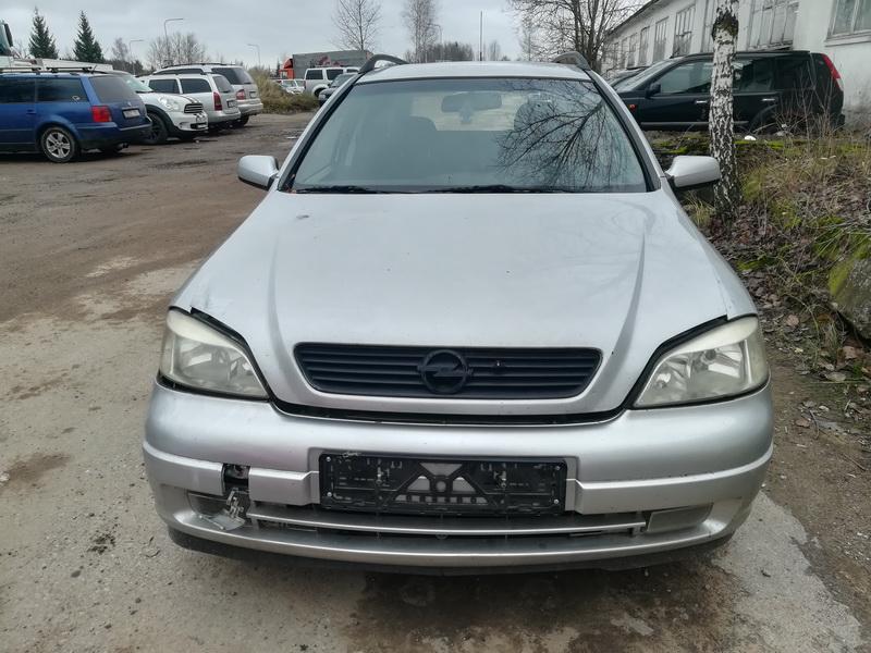 Naudotos automobilio dalys Opel ASTRA 1999 2.0 Mechaninė Universalas 4/5 d. Pilka 2019-11-08