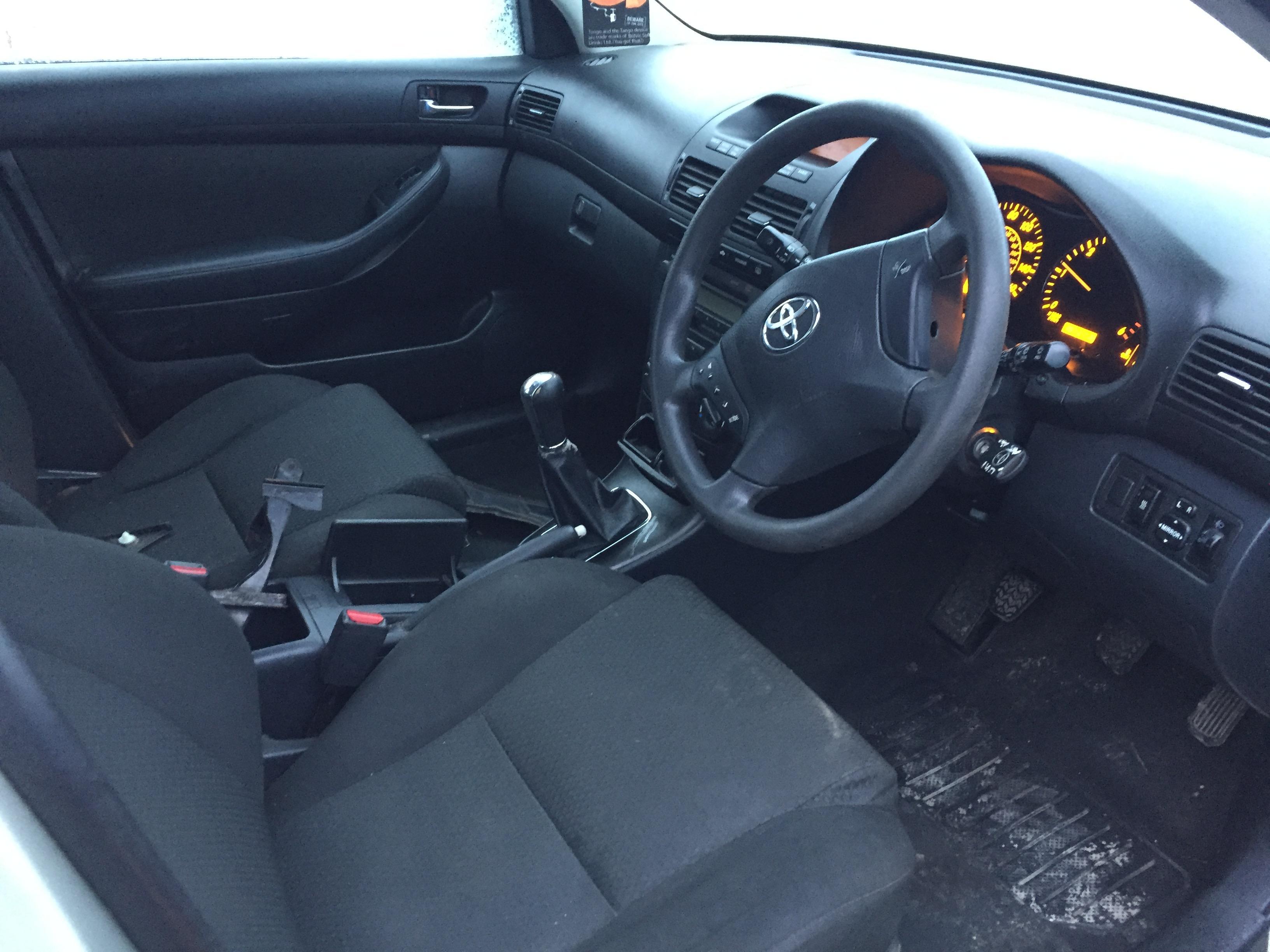 Naudotos automobilio dalys Toyota AVENSIS 2004 2.0 Mechaninė Universalas 4/5 d. Sidabrine 2017-11-21