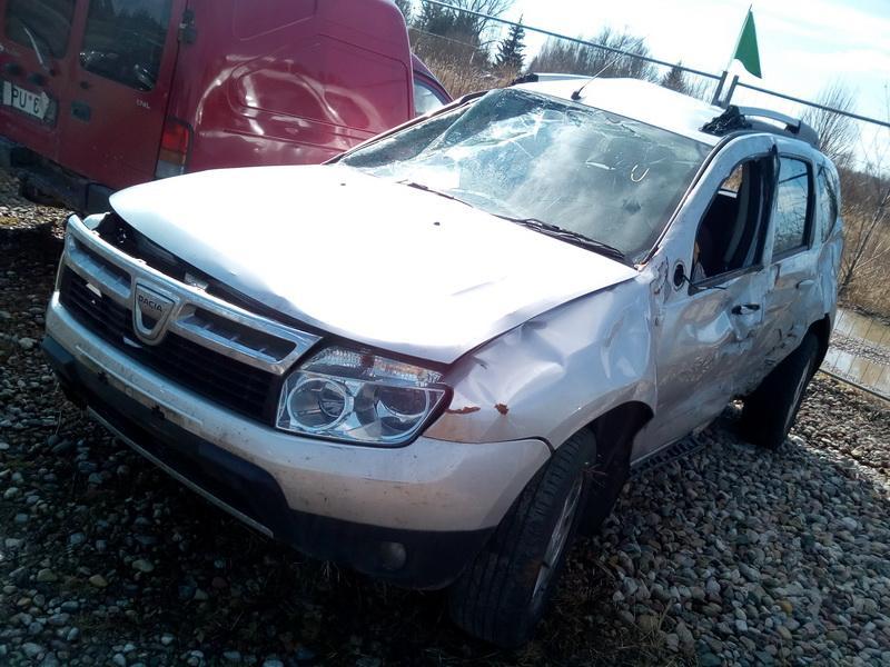 Naudotos automobilio dalys Dacia DUSTER 2012 1.5 Mechaninė Visureigis 4/5 d. Sidabrine 2018-4-04