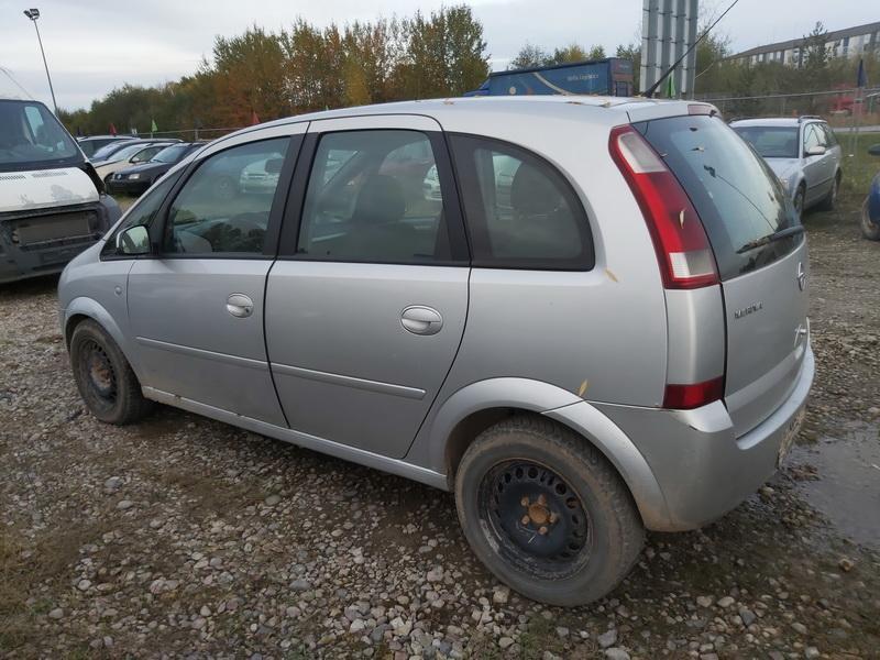 Naudotos automobiliu dallys Foto 9 Opel MERIVA 2004 1.7 Mechaninė Vienatūris 4/5 d. Pilka 2020-10-10 A5740