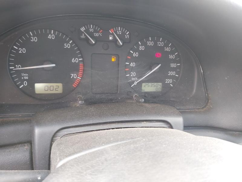 Naudotos automobiliu dallys Foto 7 Volkswagen PASSAT 1996 1.6 Mechaninė Universalas 4/5 d. Raudona 2020-6-23 A5380