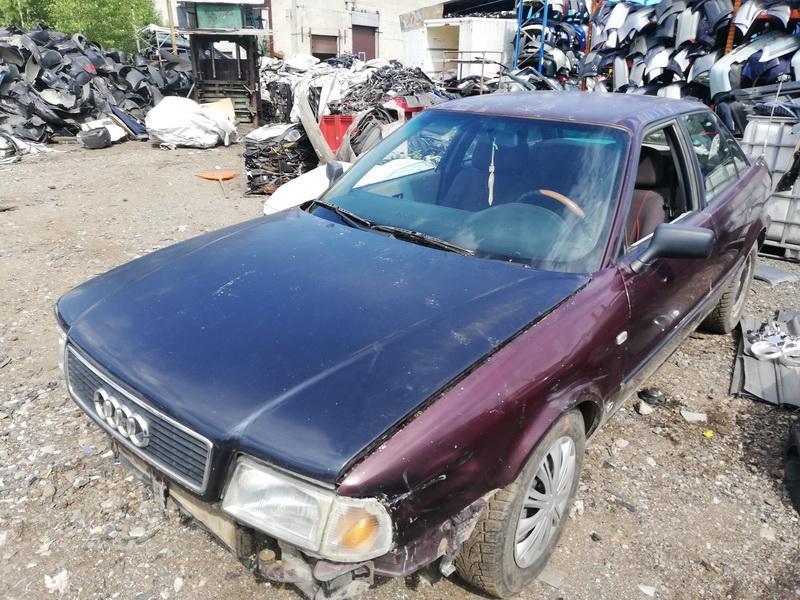 Naudotos automobiliu dallys Foto 2 Audi 80 1992 1.9 Mechaninė Sedanas 4/5 d. Raudona 2019-8-09 A4698