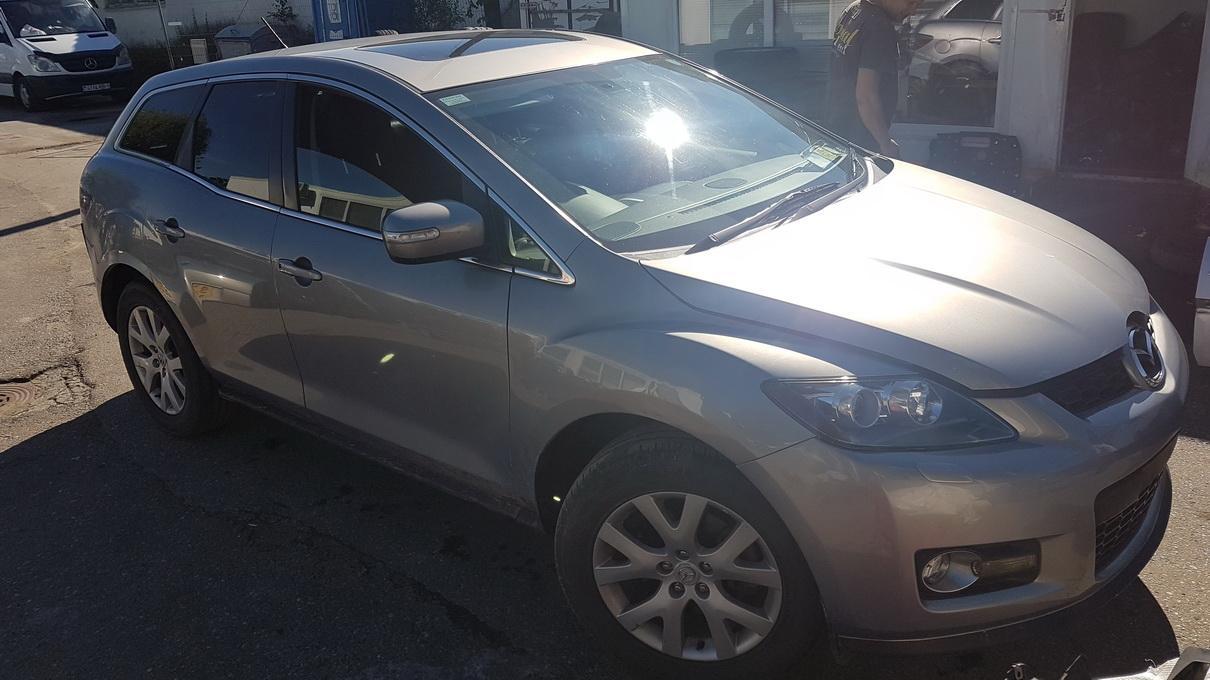 Подержанные Автозапчасти Foto 1 Mazda CX-7 2009 2.3 машиностроение напрямик 4/5 d. Серый 2017-7-17 A3356