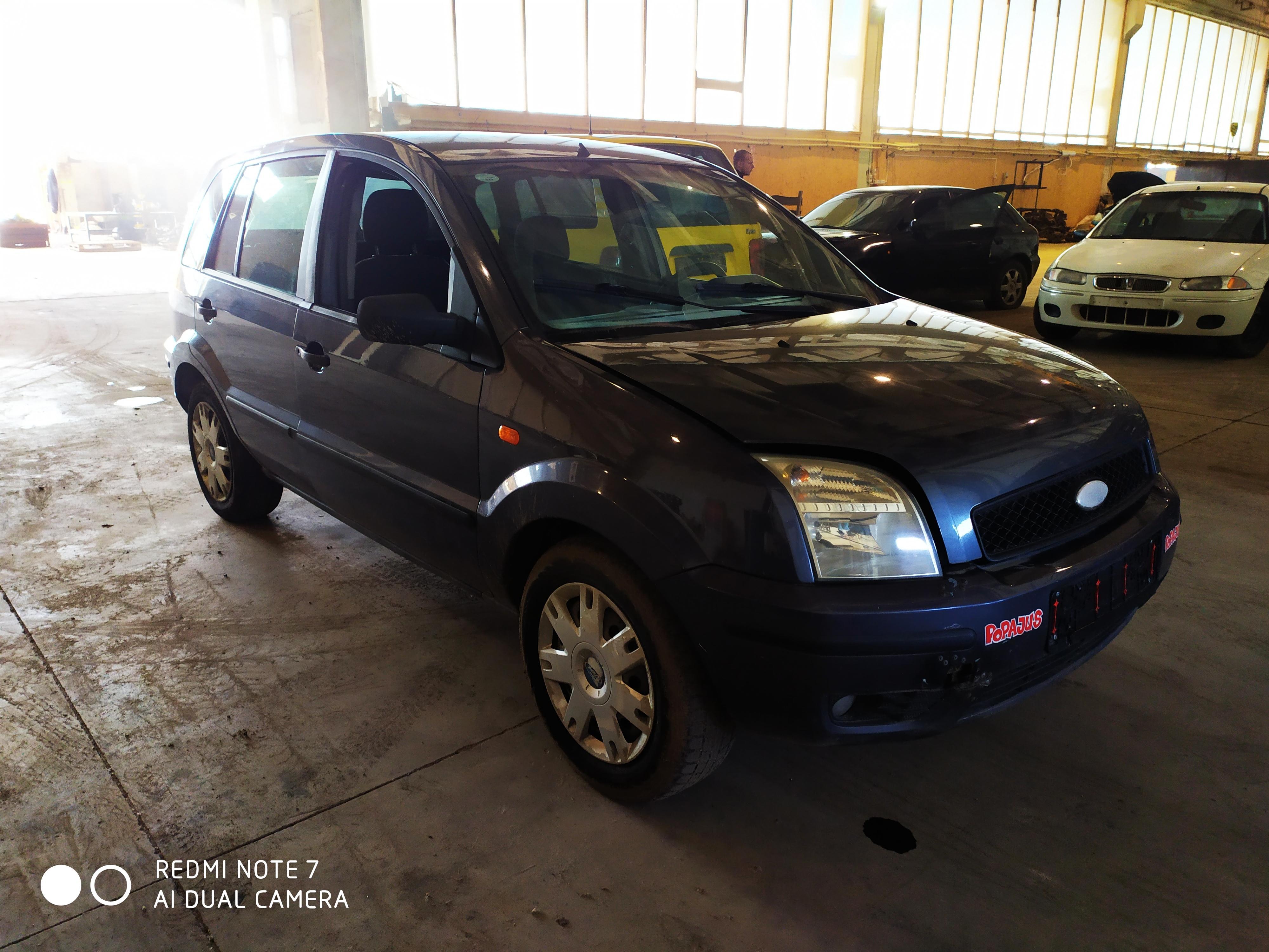 Naudotos automobilio dalys Ford FUSION 2002 1.4 Mechaninė Hečbekas 4/5 d. Pilka 2020-9-04