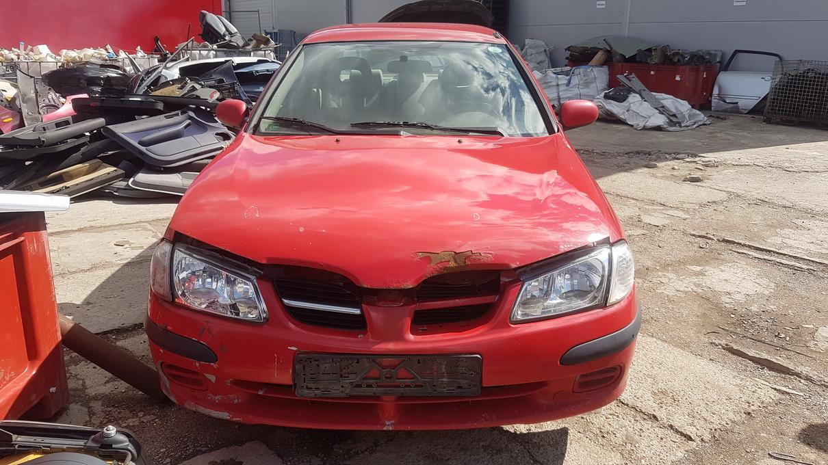 Used Car Parts Foto 1 Nissan ALMERA 2000 2.0 Mechanical Sedan 4/5 d. Red 2017-7-14 A3353