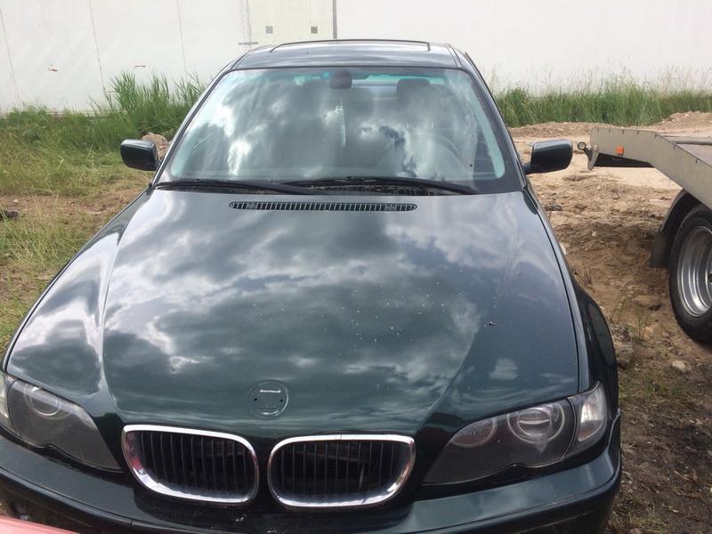Подержанные Автозапчасти Foto 1 BMW 3-SERIES 2000 2.0 машиностроение седан 4/5 d. зеленый 2018-6-13 A3867