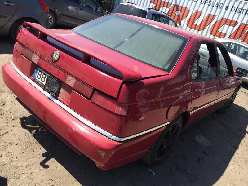 Naudotos automobiliu dallys Foto 8 Alfa-Romeo 164 1995 2.5 Mechaninė Sedanas 4/5 d. Raudona 2018-5-28 A3794