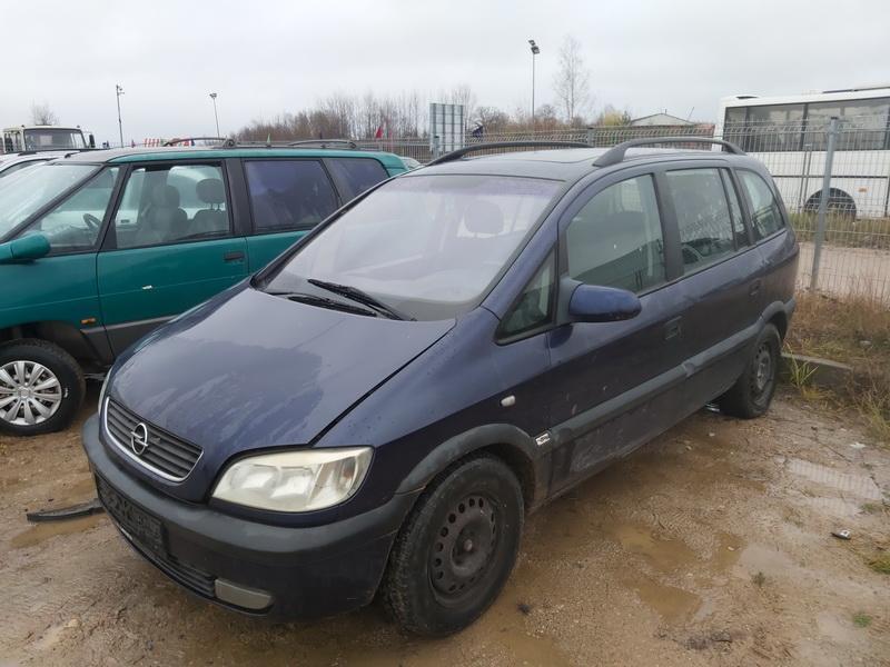 Подержанные Автозапчасти Foto 4 Opel ZAFIRA 2000 2.0 машиностроение минивэн 4/5 d. синий 2020-11-18 A5831