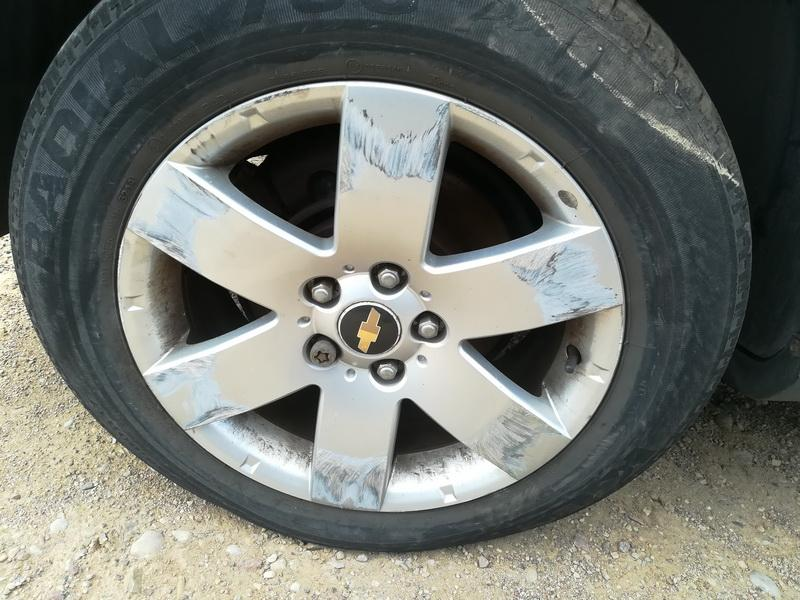 Naudotos automobiliu dallys Foto 9 Chevrolet CAPTIVA 2007 2.0 Mechaninė Visureigis 4/5 d. Sidabrine 2019-7-02 A4586