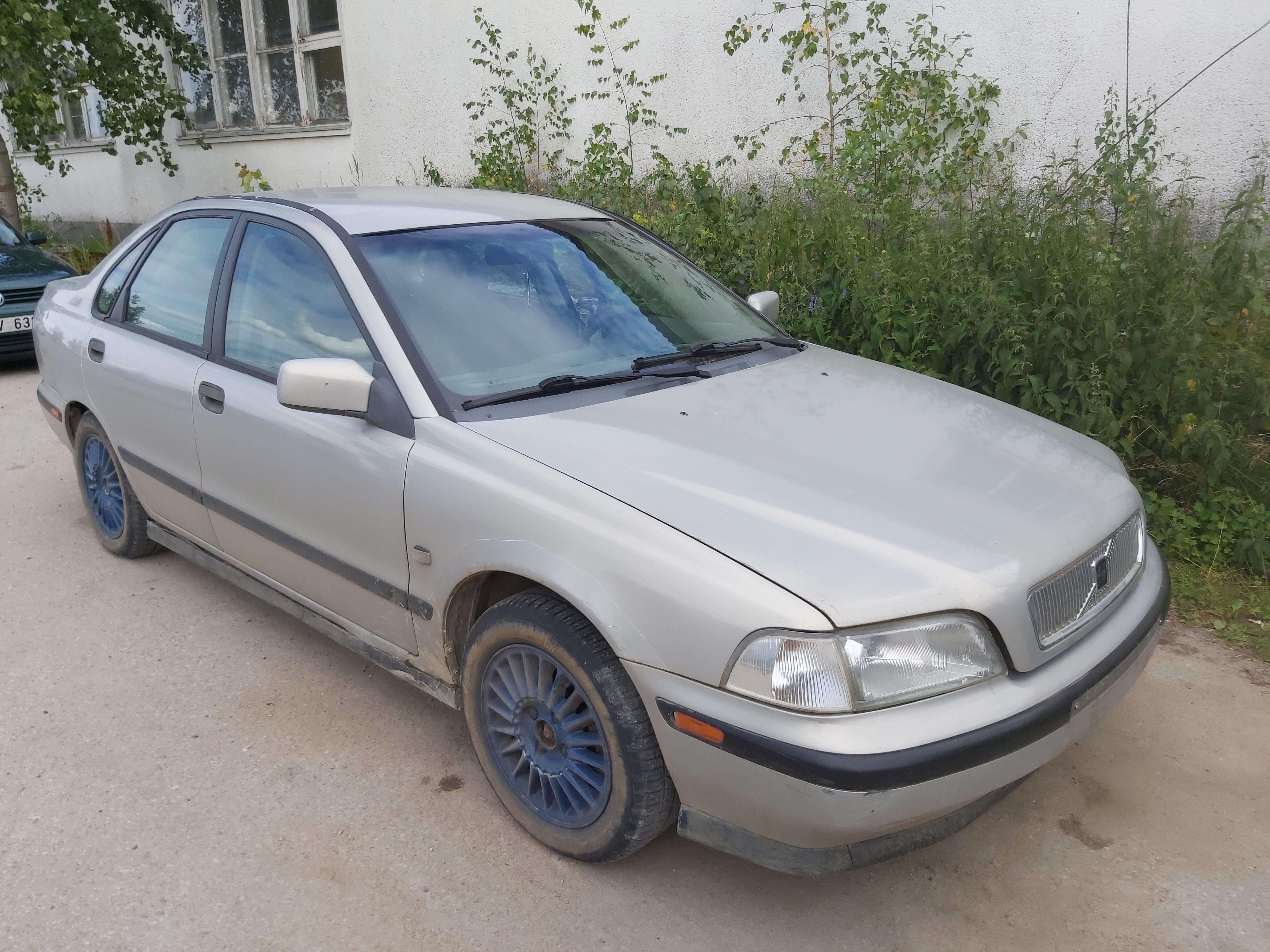 Naudotos automobilio dalys Volvo S40 1997 2.0 Mechaninė Sedanas 4/5 d. Pilka 2020-7-24