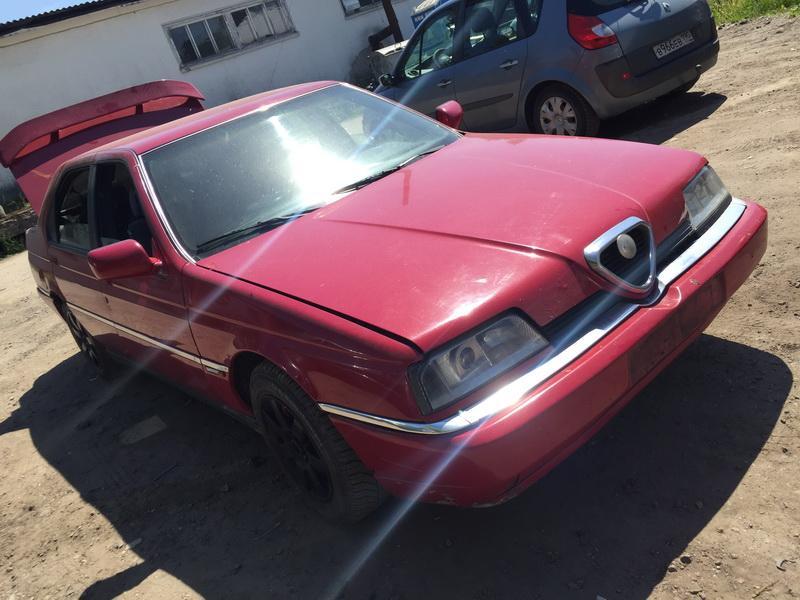 Naudotos automobiliu dallys Foto 4 Alfa-Romeo 164 1995 2.5 Mechaninė Sedanas 4/5 d. Raudona 2018-5-28 A3794