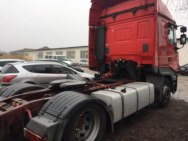 Naudotos automobilio dalys Truck - Iveco STRALIS 2004 10 Automatinė Vilkikas 2/3 d. Raudona 2018-12-11