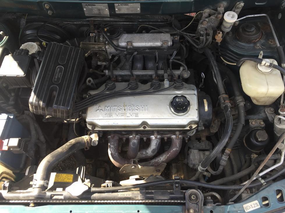 Naudotos automobilio dalys Mitsubishi SPACE RUNNER 1998 1.8 Mechaninė Vienatūris 4/5 d. Zalia 2017-7-25