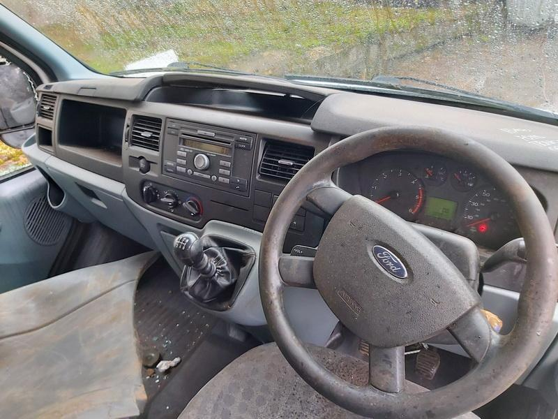 Naudotos automobilio dalys Ford TRANSIT 2011 2.2 Mechaninė Krovininis mikroautobusas 2/3 d. Balta 2020-2-25