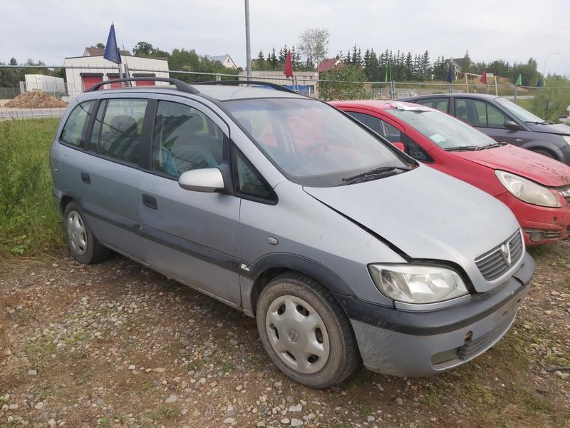Naudotos automobilio dalys Opel ZAFIRA 2000 2.0 Mechaninė Vienatūris 4/5 d. Pilka 2020-9-02