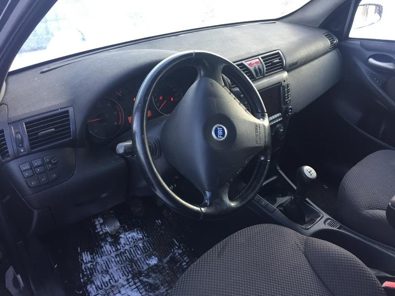 Naudotos automobilio dalys Fiat STILO 2002 1.9 Mechaninė Hečbekas 4/5 d. Juoda 2019-1-08