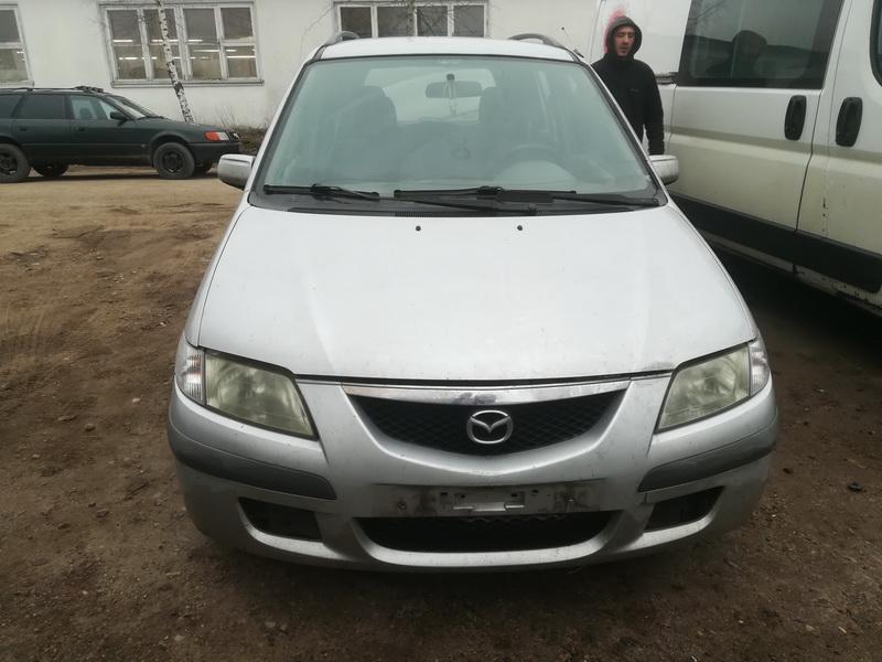Naudotos automobilio dalys Mazda PREMACY 1999 2.0 Mechaninė Hečbekas 4/5 d. Sidabrine 2019-11-27