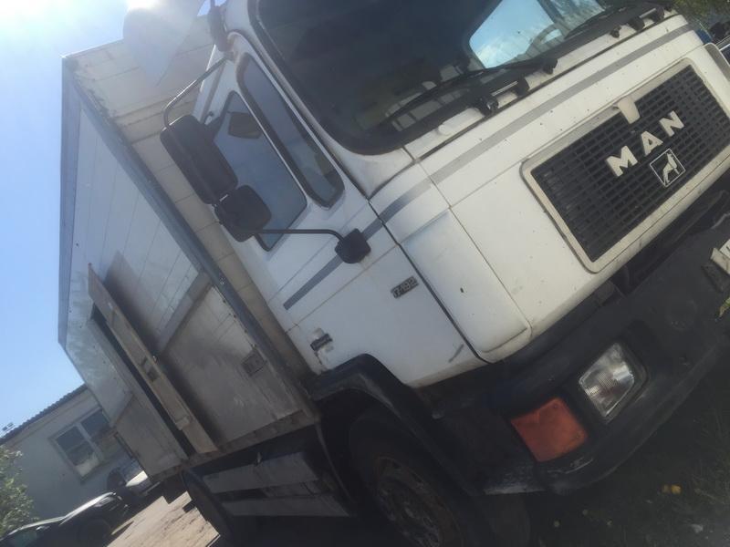 Naudotos automobilio dalys Truck - MAN 17-192 1993 0.0 Mechaninė Vilkikas 2/3 d. Balta 2018-5-09