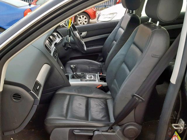 Naudotos automobiliu dallys Foto 8 Audi A6 2009 2.0 Mechaninė Universalas 4/5 d. Juoda 2019-2-21 A4335
