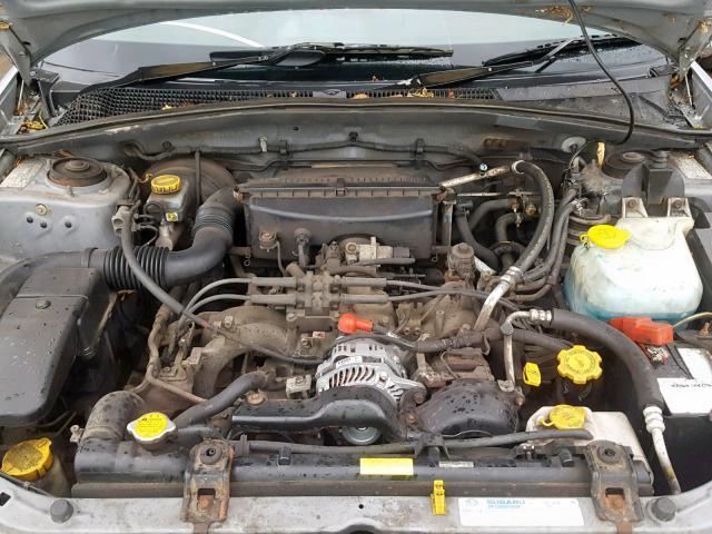Naudotos automobiliu dallys Foto 7 Subaru FORESTER 2003 2.0 Automatinė Visureigis 4/5 d. Sidabrine 2019-6-27 A4584