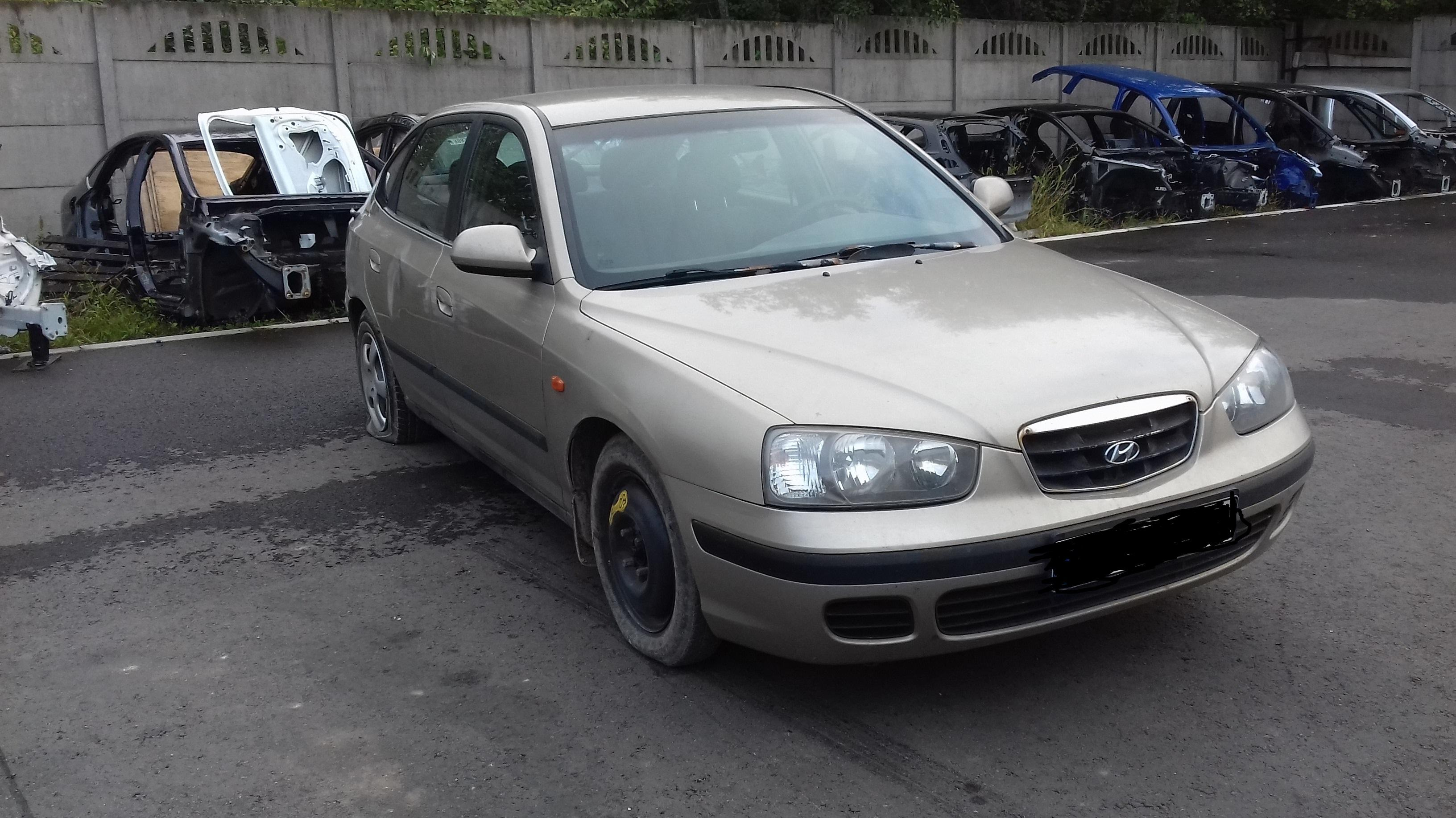 Naudotos automobilio dalys Hyundai ELANTRA 2002 2.0 Mechaninė Hečbekas 4/5 d. Pilka 2019-9-20