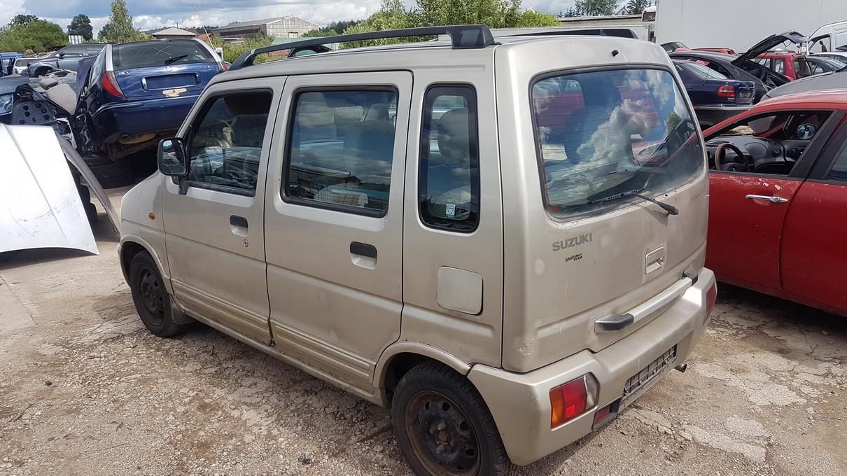 Naudotos automobilio dalys Suzuki WAGON R  1998 1.0 Mechaninė Vienatūris 4/5 d. Pilka 2017-7-14
