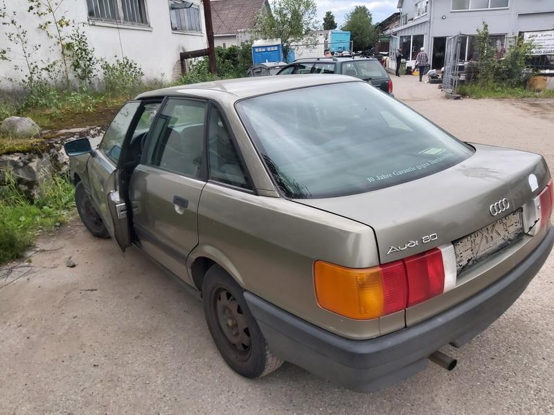 Naudotos automobiliu dallys Foto 7 Audi 80 1988 1.8 Mechaninė Sedanas 4/5 d. Zalia 2020-6-30 A5390
